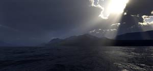 Darkened shores