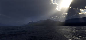 Darkened shores by villekroger