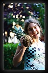 Pineapple by villekroger