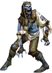 Undead Screaming Zombie