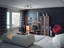 Interior Study WIP | 091213