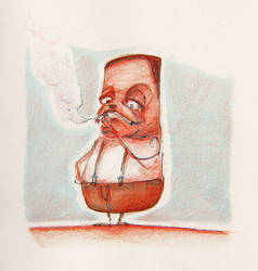 daily sketch 1 - 150814 by Creativetone