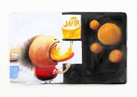 Daily Ballhead - Jaffa - 140315 by Creativetone