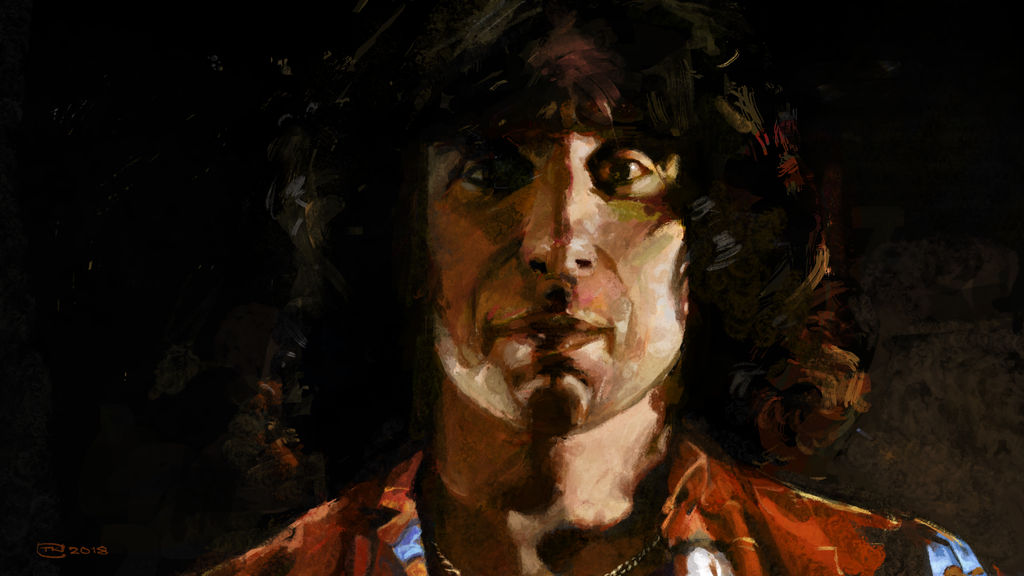 Bon Scott | AC/DC - 070818 by Creativetone