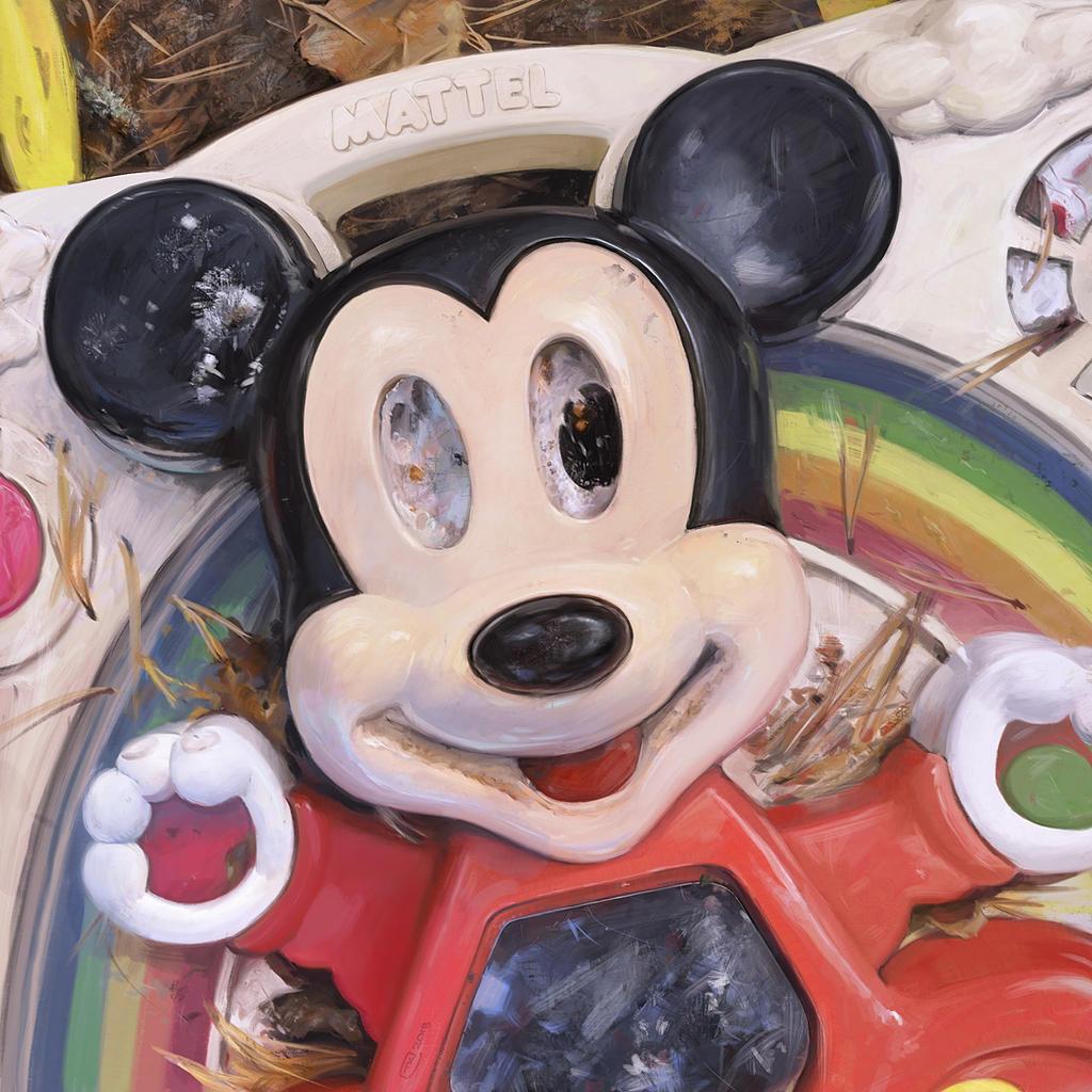 Abandoned Mickey - 220818