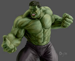 The Incredible Hulk by Digraven