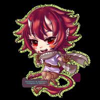 [ArtTrade]: Ryuu by ZeonXeria