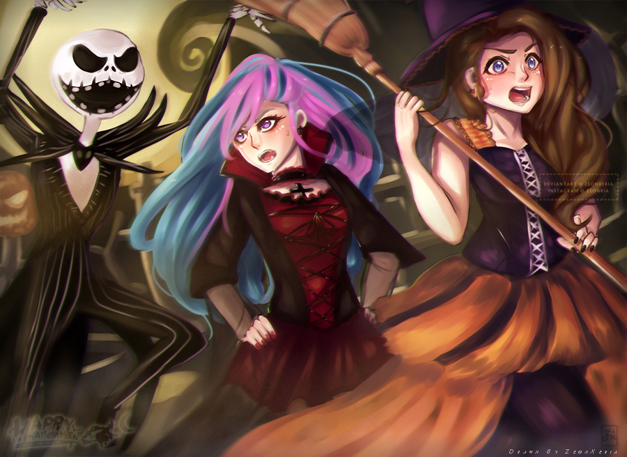 [Special]: Spooky Time!! by ZeonXeria
