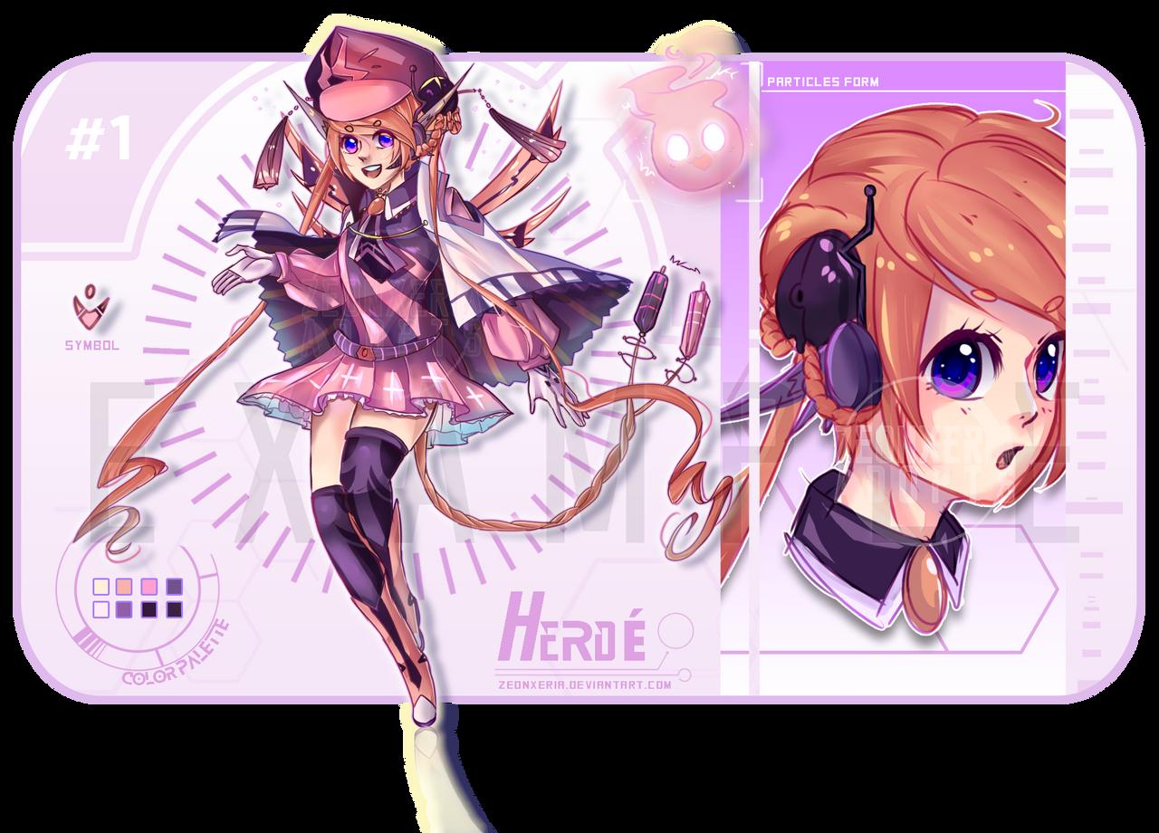 OTA-CLOSED]: HERDE #1 -  Pastel Magician   by ZeonXeria on DeviantArt   {Herde 90}