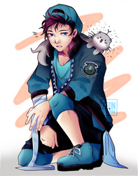 [RPG-Crowhaven]: School Spirit Outfit by ZeonXeria