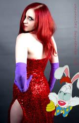 Jessica Rabbit and Roger Rabbit