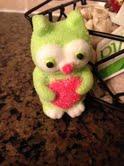 Vanilla Peeps Owl by xAzuri-Chanx