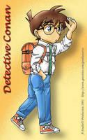 Detective Conan Fanart by chunie