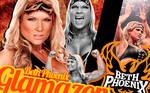 WWE Diva Beth Phoenix Wallpaper