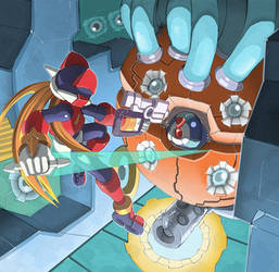 Megaman Zero - Phantheon Core by ultimatemaverickx