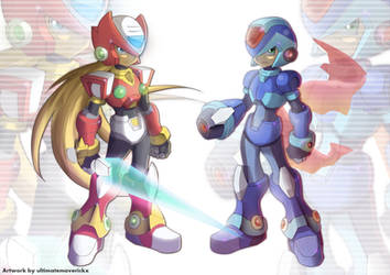 X and Zero (UMX Version) by ultimatemaverickx