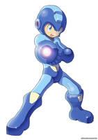 Megaman (UMX version) by ultimatemaverickx