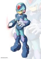 Megaman X (UMX version II) by ultimatemaverickx