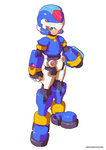 Megaman Model X (Official Style)