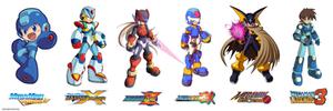 Megaman Official Art Styles
