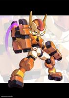 Megaman Model FX by ultimatemaverickx