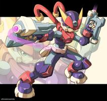 Megaman Model A by ultimatemaverickx