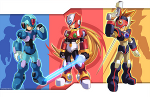 Maverick Hunters by ultimatemaverickx