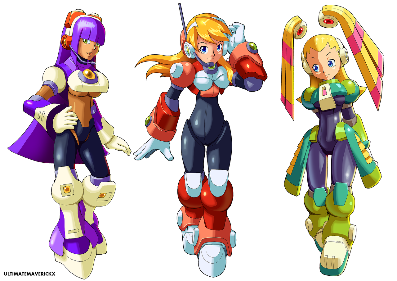 Deviantart Megaman Alia Inflation: The Navigators By Ultimatemaverickx On DeviantArt