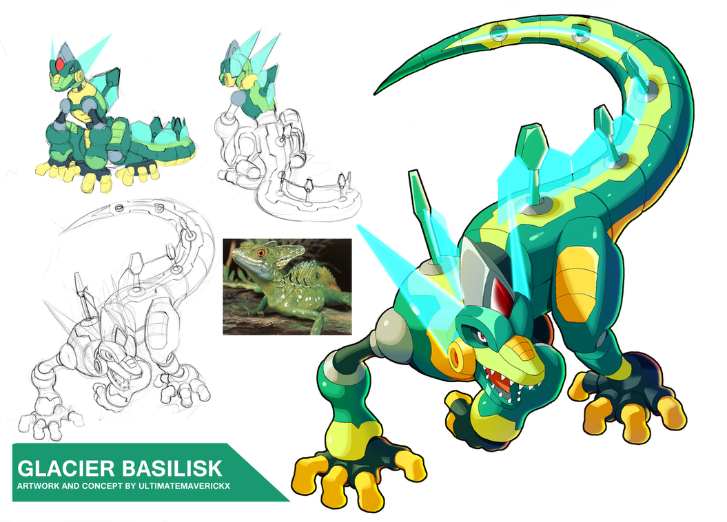 Glacier Basilisk by ultimatemaverickx