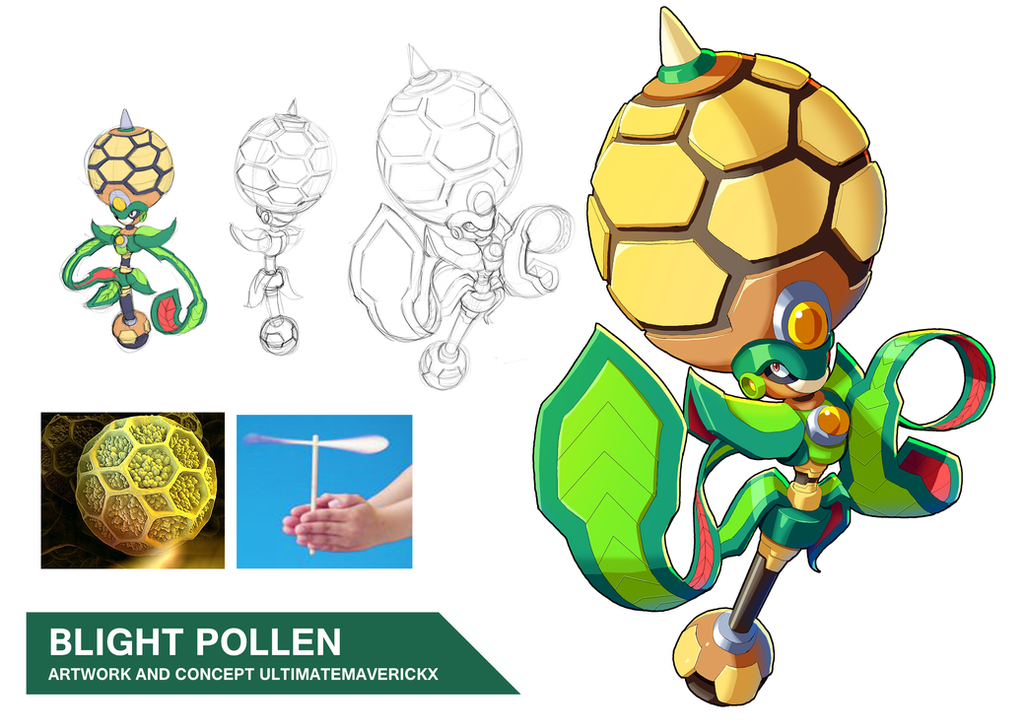 Blight Pollen by ultimatemaverickx