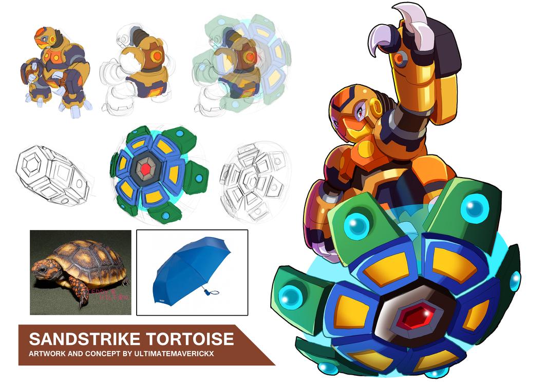 Sandstrike Tortoise by ultimatemaverickx
