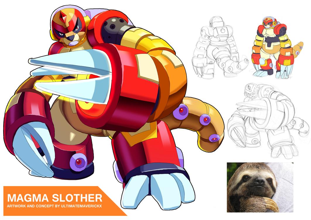 Magma Slother by ultimatemaverickx
