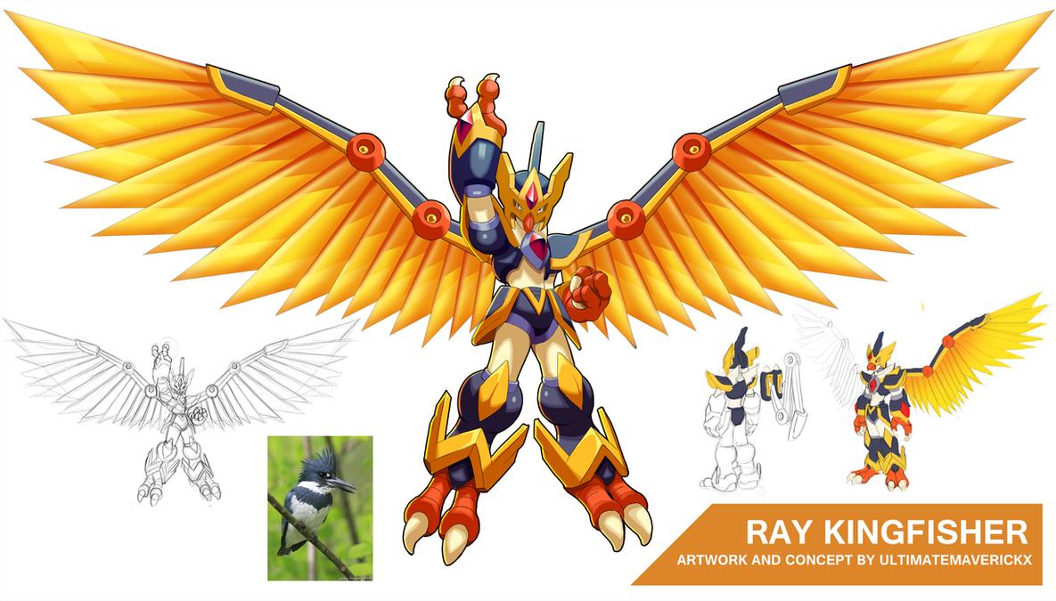 Ray Kingfisher by ultimatemaverickx