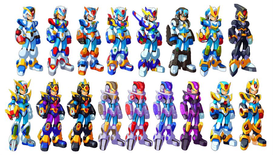 Armor Systems by ultimatemaverickx