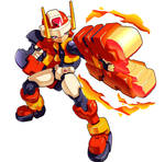 MMZX Ultimus: The Flame Mega Man