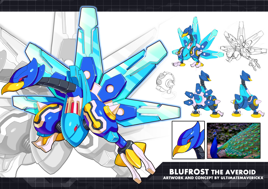 MMZX Ultimus- Blufrost the Averoid by ultimatemaverickx