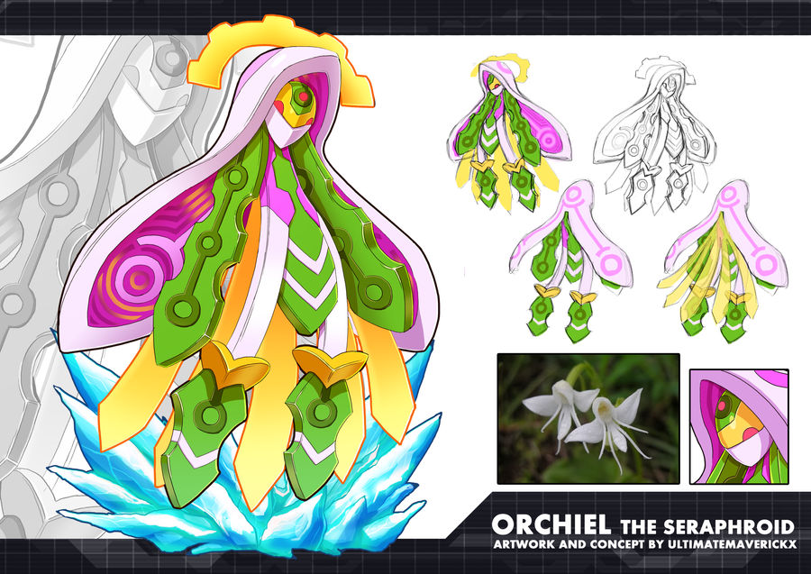 MMZX Ultimus- Orchiel the Seraphroid by ultimatemaverickx