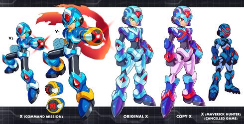 X Versions by ultimatemaverickx