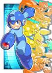 Megaman Legacy by ultimatemaverickx