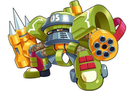 Mighty No.5 - Battalion (UMX Version)