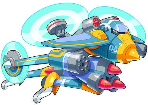 Mighty No.6 - Aviator (UMX ver.)