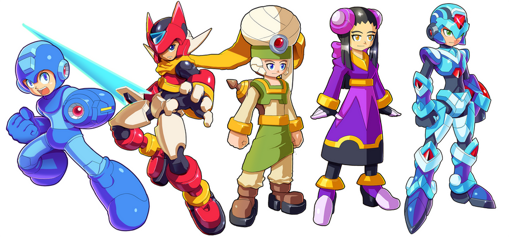 Character Samples by ultimatemaverickx