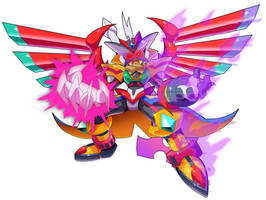 Commission: Rival (Super Berserker Form)