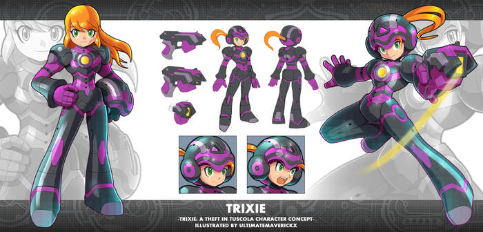 Trixie: A Theft in Tuscola: Trixie Concept