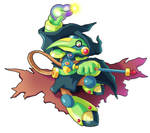 Commission: Plague Knight X