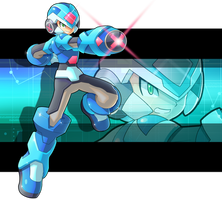 Commission: X.EXE by ultimatemaverickx