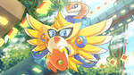 Commission: Chicken Wiggle X