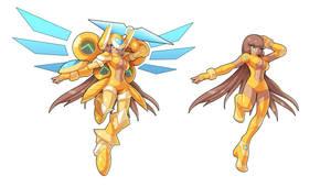 Commission: Goldheart