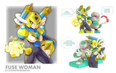 Fuse Woman by ultimatemaverickx