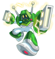 Commission: Data Man by ultimatemaverickx